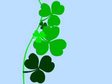 saint patricks clover free screensaver