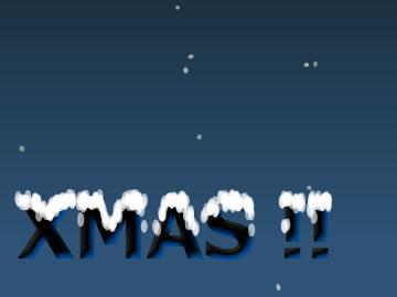 snowflakes merryxmas free screensaver