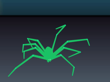 toxic spider free screensaver