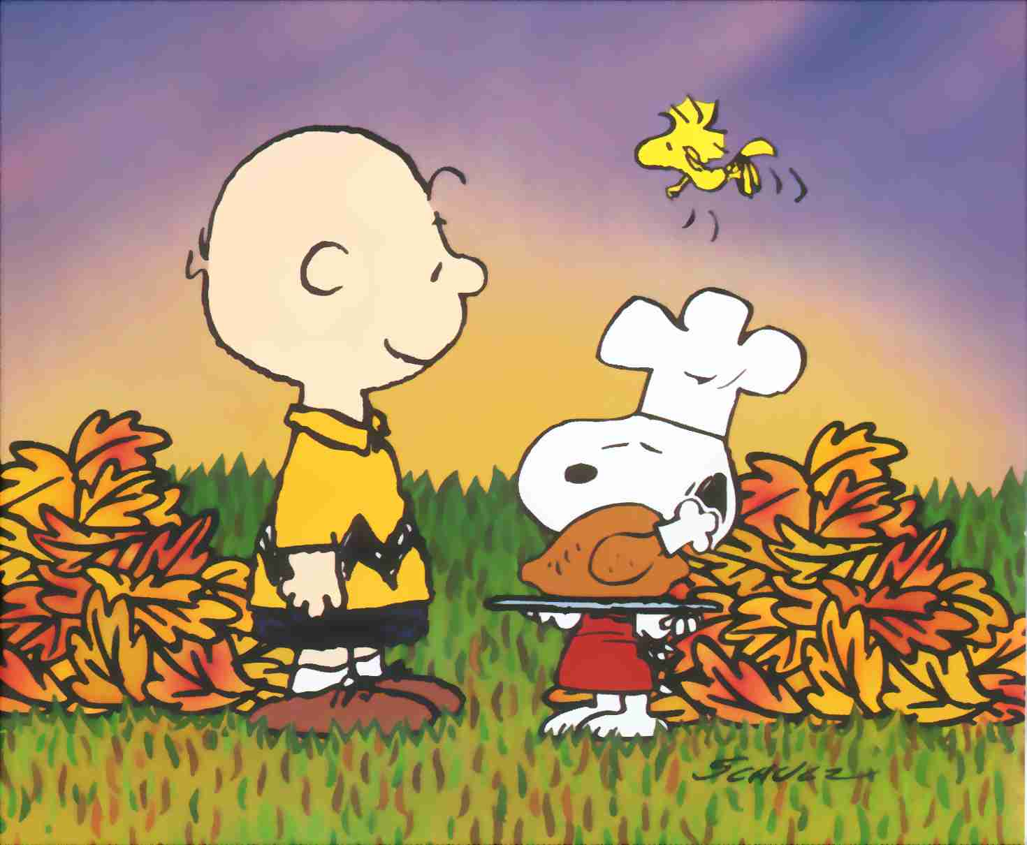 Charlie Brown Wallpaper and Screensaver http://www.screensavers-free.co.uk/wallpapers/thanksgiving-wallpapers.php